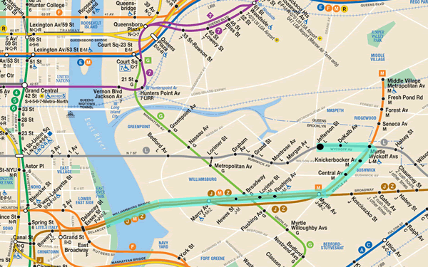 L Subway Map.L Train Subway Map Smoothoperators